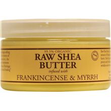 Nubian Heritage, Raw Shea Butter, Infused with Frankincense & Myrrh, 4 oz (114 g)