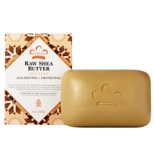 Nubian Heritage, Raw Shea Butter Soap, With Soy Milk, Frankincense & Myrrh, 5 oz (141 g)