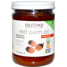 Nutiva Organic Red Palm Oil, 15 fl oz (444 ml)