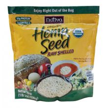 Nutiva, Organic Hemp Seed, Raw Shelled, 19 oz