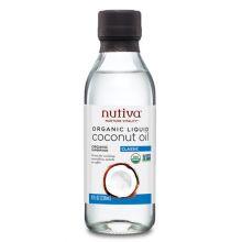 Nutiva, Organic Liquid Coconut Oil, Classic, 8 fl oz (237ml)