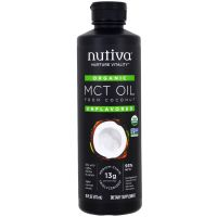 Nutiva 有机 MCT 油 473ml (16 oz)