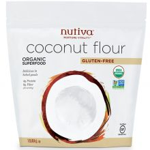 Nutiva, Organic Coconut Flour, 1 lb