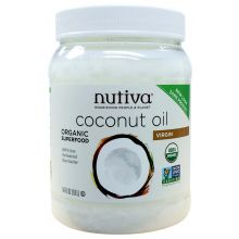 Nutiva Organic Cold-Pressed Extra-Virgin Coconut Oil 1600ml (54 oz)
