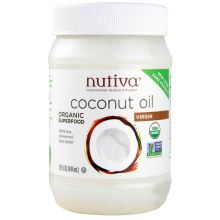 Nutiva Organic Cold-Pressed Extra-Virgin Coconut Oil 444ml (15 oz)