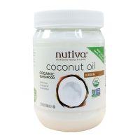 Nutiva 有机冷压初榨椰子油 858ml (29 oz)