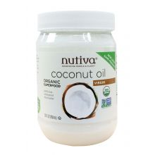 Nutiva Organic Cold-Pressed Extra-Virgin Coconut Oil 858ml (29 oz)
