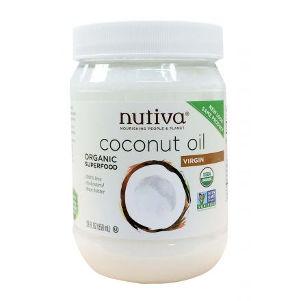 Nutiva 有機冷壓初榨椰子油 858ml (29 oz)