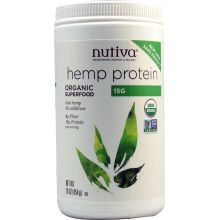Nutiva 有机大麻籽蛋白粉, 16oz