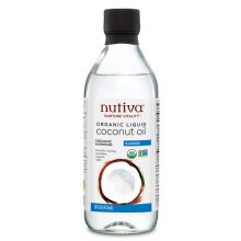 Nutiva, Organic Liquid Coconut Oil, Classic, 16 fl oz (473 ml)