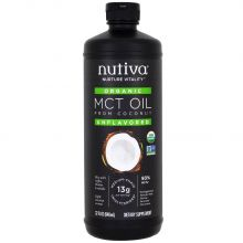 Nutiva 有機 MCT 油 946ml (32 oz)