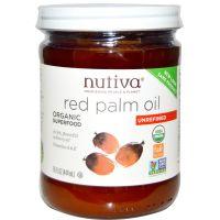 Nutiva 有機紅棕櫚油, 15 fl oz (444 ml)