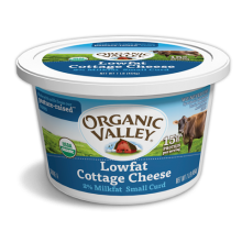 Budwig 3+1 : 3 x Organic Valley Lowfat Cottage Cheese 16 oz