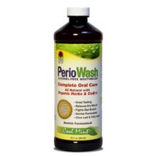 Nature's Answer, PerioWash - 清凉薄荷漱口水 - 16oz