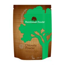 Rainforest Foods, Organic Broken Cell Wall Chlorella Powder, 200g