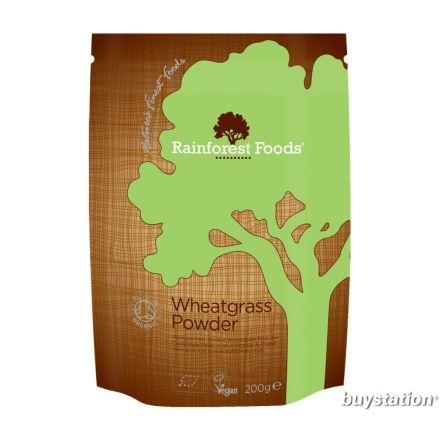 Rainforest Foods, 有機小麥草粉 200g