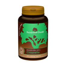 Rainforest Foods, Organic Chlorella Tablets, 500mg, 300 Tablets