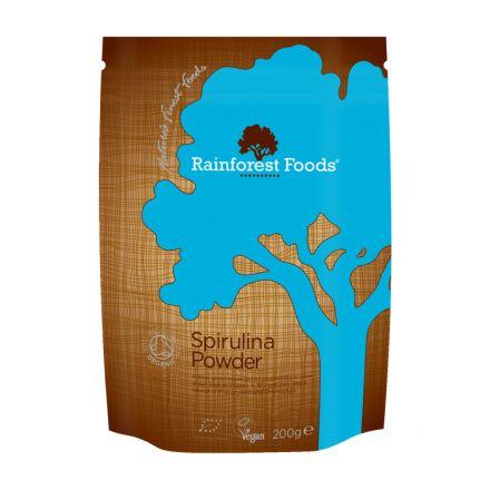 Rainforest Foods, Organic Spirulina Powder, 200g