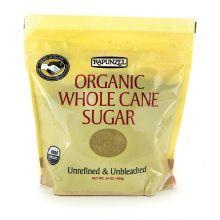 Rapunzel, Organic Whole Cane Sugar, 24 oz