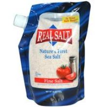 Real Salt, Nature's First Sea Salt, 26 oz (737 g)