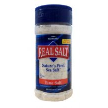 Real Salt, Nature's First Sea Salt, 10 oz