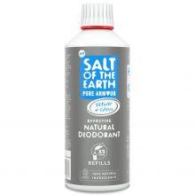 Salt of the Earth, 男性專用天然止汗噴霧補充裝 500ml