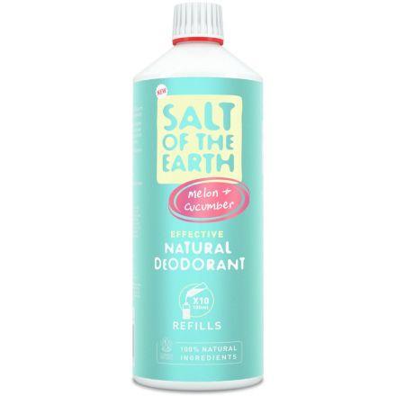 Salt of the Earth, 蜜瓜青瓜味天然止汗噴霧補充裝 500ml