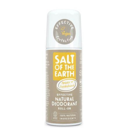 Salt of the Earth, 琥珀檀香滾珠式天然止汗劑 75ml