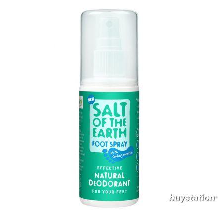 Salt of the Earth, 天然薄荷足部噴霧, 100ml