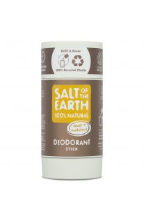Salt of the Earth, Amber & Sandalwood Natural Deodorant Stick 84g