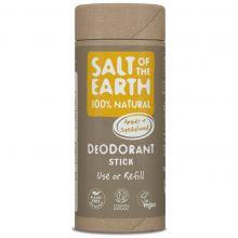 Salt of the Earth, 琥珀和檀香味天然止汗香體棒 75g (補充裝)