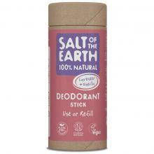 Salt of the Earth, 薰衣草和香草味天然止汗香體棒 75g (補充裝)