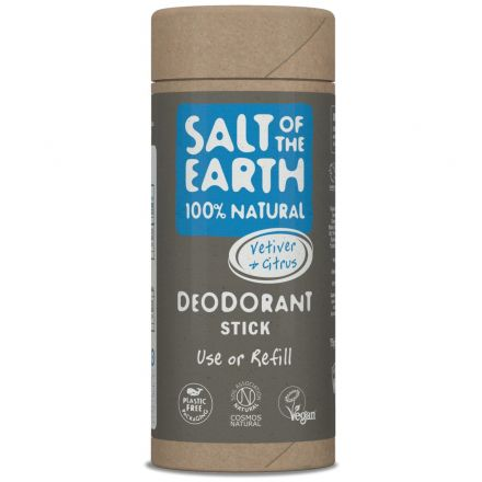 Salt of the Earth, 香根草和柑橘味天然止汗香體棒 75g (補充裝)