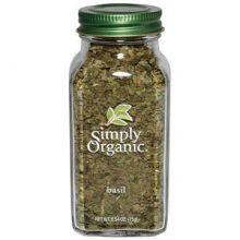 Simply Organic, Basil, 0.54 oz (15 g)