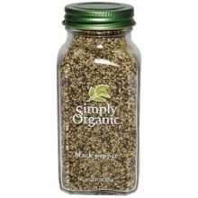 Simply Organic, Black Pepper, Medium Grind 2.31 oz (65 g)