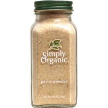 Simply Organic, Garlic Powder, 3.64 oz
