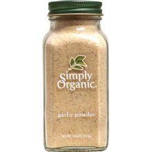 Simply Organic, 有机大蒜粉, 3.64 oz