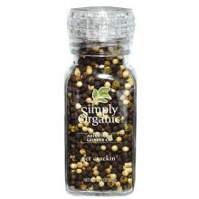 Simply Organic, Get Crackin, 有机混合胡椒连磨, 3 oz (85 g)