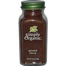 Simply Organic, 有机丁香, 2.82 oz (80 g)