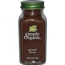 Simply Organic, 有機丁香, 2.82 oz (80 g)