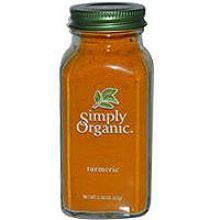 Simply Organic, 有機薑黃, 2.45 oz (69 g)