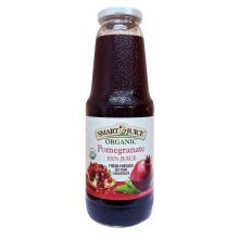 Smart Juice, Organic Pomegranate Juice, 1 L