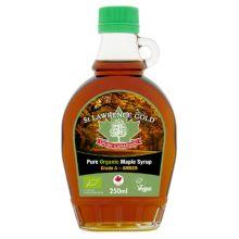 St Lawrence Gold, 加拿大有機 100% 純楓葉糖漿 - 琥珀色 (濃郁口味) 250ml