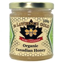 St Lawrence Gold, Organic Canadian Honey, 330g