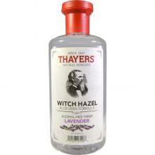 Thayers, 薰衣草金縷梅,蘆薈配方,無酒精爽膚水 12 fl oz (355 ml)
