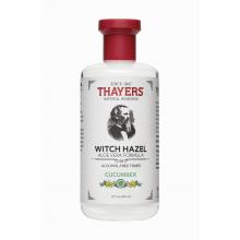Thayers,  青瓜金縷梅,蘆薈配方,無酒精爽膚水  12 fl oz (355 ml)