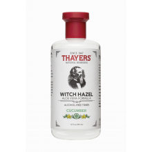 Thayers, Alcohol Free Toner, Cucumber Witch Hazel with Aloe Vera Formula, 12 fl oz (355 ml)