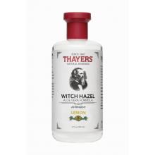 Thayers, 檸檬金縷梅,蘆薈配方,收斂爽膚水 12 fl oz (355 ml)蘆薈配方