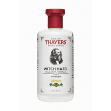 Thayers, Astringent, Lemon Witch Hazel with Aloe Vera Formula, 12 fl oz (355 ml)