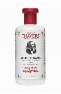 Thayers, 玫瑰花瓣金縷梅,蘆薈配方,無酒精爽膚水 12 fl oz (355 ml)